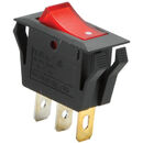 Parts Express SPST Rocker Switch with Neon Lamp