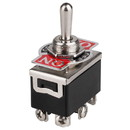 DPDT Center Off Heavy Duty Toggle Switch Momentary Both Sides
