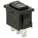 Parts Express SPDT Miniature Momentary Rocker Switch Center Off