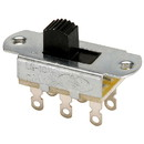 NTE 54-667 DPDT Slide Switch 7mm Actuator Height