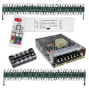 Lavolta LED Light Strip 2 x 50 Module Bundle with Controller and Power Supply