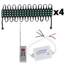 Parts Express Marine/Boat 80 Module RGB 5050 SMD 3 LED IP67 Waterproof 36 ft. Light Strip Kit with RF Remote