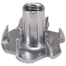 Parts Express #10-32 Deluxe 6-Prong T-Nuts 50 Pcs.
