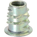 Parts Express Hex Drive M6 Barbed Body Insert Nuts 20 Pcs.