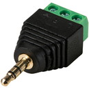 3.5mm Male to Screw Terminal Connector