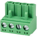 Parts Express Phoenix Type Connector 4-Pole 5mm Pitch 4-Pack