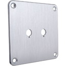 Dayton Audio SBPP-SI Binding Post Plate Silver Anodized