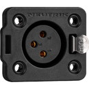 Neutrik NC3FDX-TOP Heavy Duty Female 3-Pole XLR Chassis Connector IP65 and UV Rated