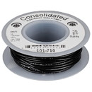 Consolidated Stranded 24 AWG Hook-Up Wire 25 ft. Black UL Rated