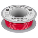 Consolidated Stranded 24 AWG Hook-Up Wire 25 ft. Red UL Rated