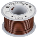 Consolidated Stranded 18 AWG Hook-Up Wire 25 ft. Brown UL Rated
