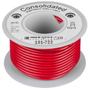 Consolidated Stranded 18 AWG Hook-Up Wire 25 ft. Red UL Rated