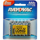 Rayovac AAA Alkaline Battery 6-Pack