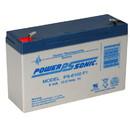 Power-Sonic PS-6100 F1 Sealed Lead Acid Battery 6V 12Ah