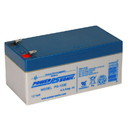 Power-Sonic PS-1230 Sealed Lead Acid Battery 12V 3.4Ah
