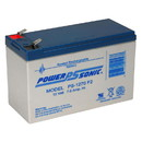 Power-Sonic PS-1270F2 Sealed Lead Acid Battery 12V 7Ah