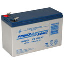 Power-Sonic PS-1290 Sealed Lead Acid Battery 12V 9Ah