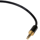 Audtek Electronics 35SS12 3.5mm Stereo Male to Male Slim Shell Audio Cable 12 ft.