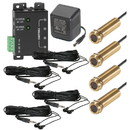 Wired Home WHIRK3 Advanced 4-Zone Tube IR Repeater Kit