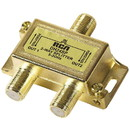 RCA DH24SPF 2-Way 3 GHz Bi-Di Gold Plated Coaxial Splitter