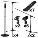 Talent Microphone Stand Gig Pack