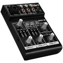 Talent MIX-R Mini Portable 3-Channel Mixer with USB Audio Interface