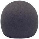 Parts Express Microphone Windscreen Foam Dark Gray