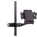 K&M Universal Mic or Music Stand iPhone Smartphone Cell Phone Holder - Clamp-On Mount