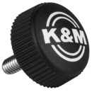 K&M Replacement Parts 01.82.948.55 M6 x 25 Knurled Knob Bolt for 210/A2