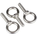 Parts Express Stainless Steel Eye Bolt M8 x 32mm 3 pcs. Eyebolt