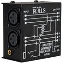 Rolls MS20c Microphone Splitter / Combiner / Isolator