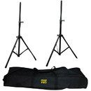 Pyle PSTK103 Dual Speaker Stand with Traveling Bag Kit