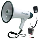 Pyle PMP45R Megaphone Bullhorn PA Speaker with Built-in Rechargeable Battery Siren Handheld Mic 40W Max