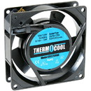 Thermocool 110 VAC Muffin Cooling Fan 92 x 25mm Sleeve Bearing 28 CFM