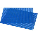 Parts Express Blue Perforated Large Hole Crossover Board Pair 5