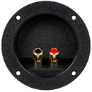 Parts Express Round Speaker Wire Terminal Cup 4-1/8