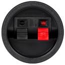 Parts Express Round Pressfit Speaker Wire Terminal Cup Spring Type