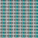 Mellotone Speaker Grill Cloth Fabric Silver Turquoise Stripe Yard 36