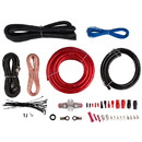 Audtek Electronics AWK4 4 AWG Amplifier Install Wiring Kit with Interconnects 2400W