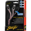 Stinger SI421.5 4000 Series 2-Channel RCA Interconnect Cable 1.5 ft.