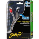 Stinger SI121.5 1.5 ft. 1000 Series 2 Channel RCA Cable