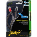 Stinger SI123 3 ft. 1000 Series 2 Channel RCA Cable