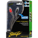 Stinger SI126 6 ft. 1000 Series 2 Channel RCA Cable