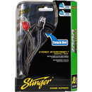 Stinger SI129 9 ft. 1000 Series 2 Channel RCA Cable