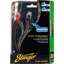 Stinger SI1212 12 ft. 1000 Series 2 Channel RCA Cable