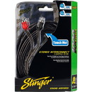 Stinger SI1217 17 ft. 1000 Series 2 Channel RCA Cable