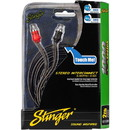 Stinger SI1220 20 ft. 1000 Series 2 Channel RCA Cable