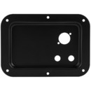 Metal Speaker Terminal Plate for One Neutrik D & Two 1/4