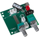 Parts Express 2 x 5W + 10W Bluetooth 5.0 Amplifier Board 5 VDC with Battery Option