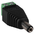 Parts Express 2.1 x 5.5mm DC Coaxial Power Plug to Screw Terminals